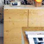 credenza design moderno legno naturale