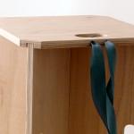 sbabello design legno smontabile trasportabile