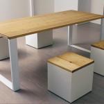 design tavolo legno naturale