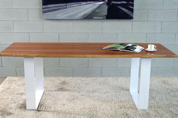 Tavolo design in legno naturale  Natural wood design table  Umberto ...